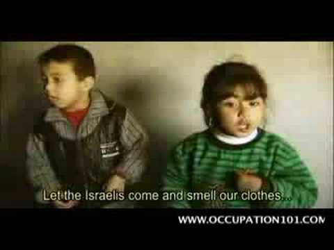 A message from the children of palestine