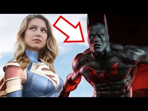 Batman Beyond Suit Teaser! NEW Flash & Supergirl in Crisis on Infinite Earths?!
