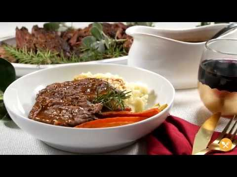 5-Ingredient Slow Cooker Red Wine Brisket