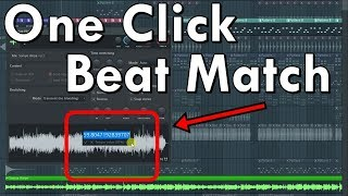 One Click Se Fl studio Me Song ki Beat Match kaise kare | Hindi / Urdu