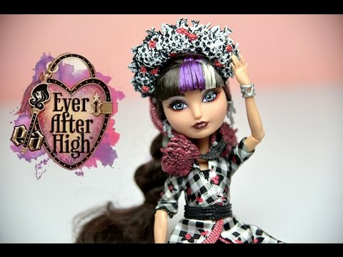 Cerise Hood Ever After High Doll Spring Unsprung Unboxing