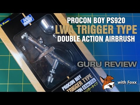 REVIEW: Mr. Hobby Procon Boy PS290 0.5mm Trigger Airbrush