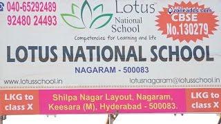 Lotus National School | Nagaram | Hyderabad | zoneadds.com