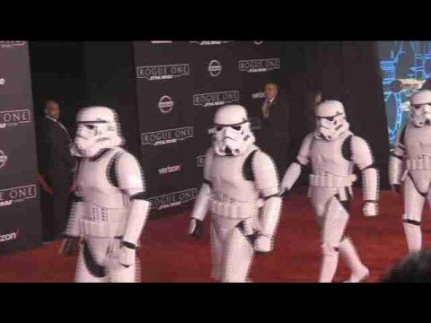 "Premier de ""Rouge One: A Star Wars Story"" en Hollywood"