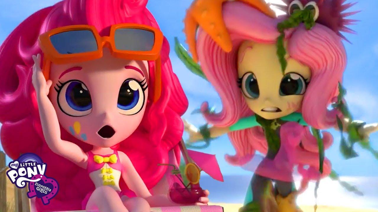 Download My Little Pony: Equestria Girls Minis | Pinkie Pie's Holiday Beach Fun | MLPEG Digital Short