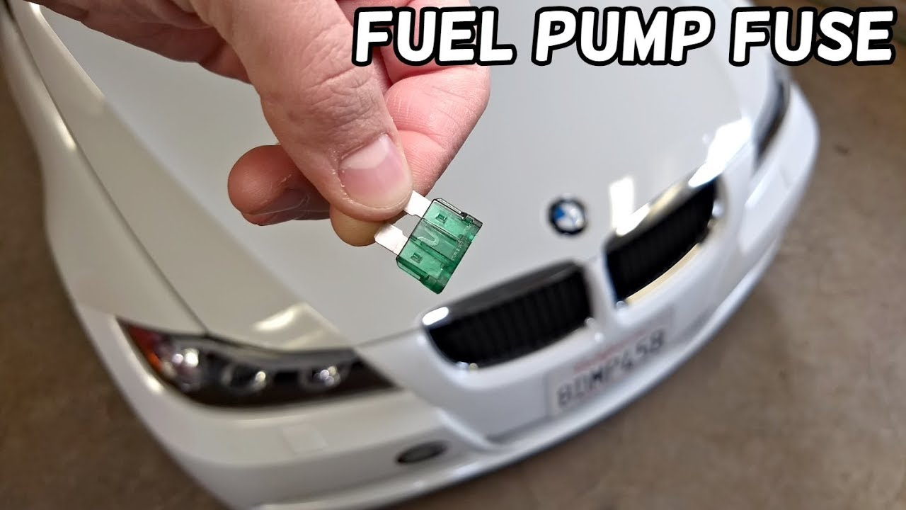 fuel pump fuse location bmw e90 e91 e92 e93 youtube. Black Bedroom Furniture Sets. Home Design Ideas