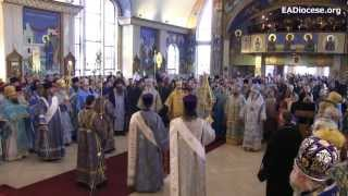Joint Liturgy of the Eastern American Diocese and Moscow Patriarchate || Oct. 13, 2012 || PREVIEW