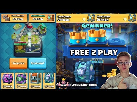 MEGA FREE CHEST OPENING! ZUSCHAUER KISTEN BEZAHLEN?! Clash Royale Deutsch German CR Kevgo around