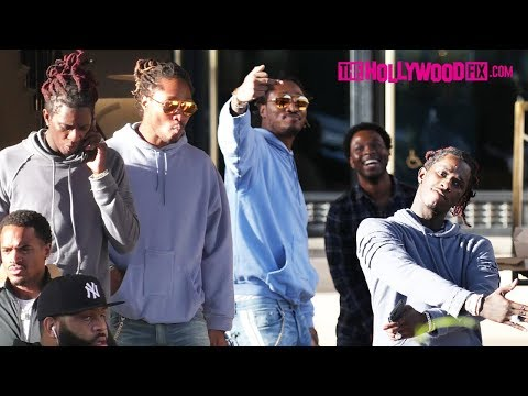 Future & Young Thug Go Shopping At Barneys New York In Beverly Hills 10.4.17 - TheHollywoodFix.com Mp3