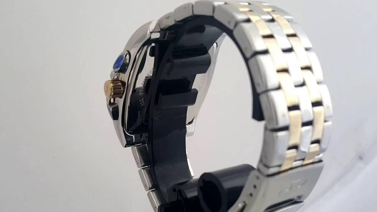 7ab7cb017c4 Relógio Masculino Technos Aço Quadrado Grande Misto JS15AR 5K Classic