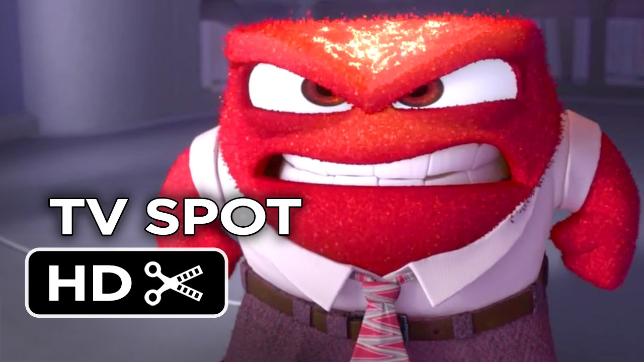 Inside Out Character TV SPOT - Lewis Black as Anger (2015) - Pixar Animated  Movie HD