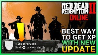 BEST Red Dead Redemption 2 Online XP Exploit! INSANELY EASY Red Dead Online XP AFTER UPDATE! RDR2