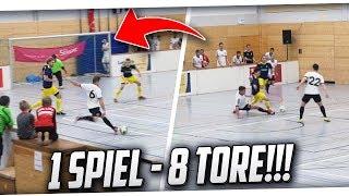 HALLENFUSSBALL! 8 TORE in einem SPIEL! Kreisliga C vs Rheinlandliga! PMTV
