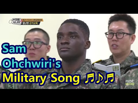 [Real men] 진짜 사나이 -  Sam ohchwiri's the martial music demonstrations, 'laugh warning' 20150322