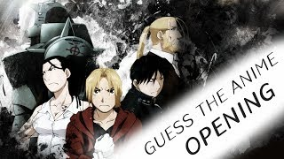 Guess the Anime Opening - Can You Guess The Songs?