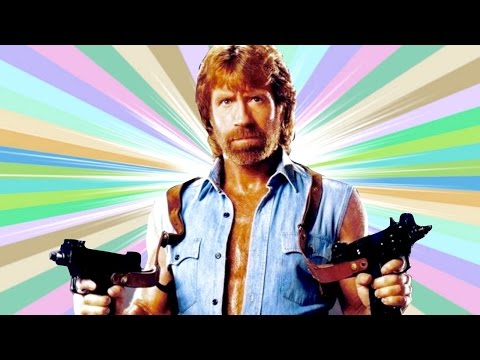 CHUCK NORRIS PATEANDO CULOS!! | Paint The Town Red - JuegaGerman