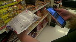 Saving money with coupon apps