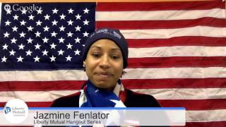 #TeamUSA Liberty Mutual Hangouts w/ Jazmine Fenlator
