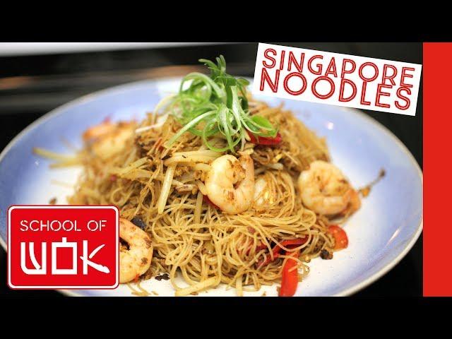 Delicious Singapore Noodle Stir Fry Recipe!
