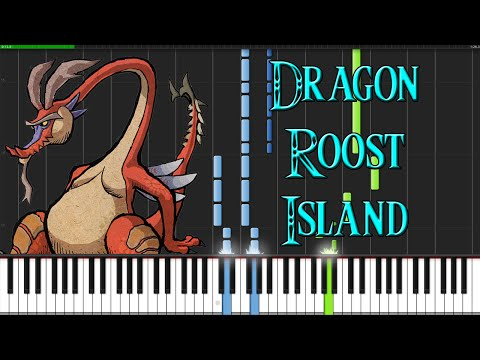 Dragon Roost Island - The Legend of Zelda: The Wind Waker [Piano Tutorial] (Synthesia)