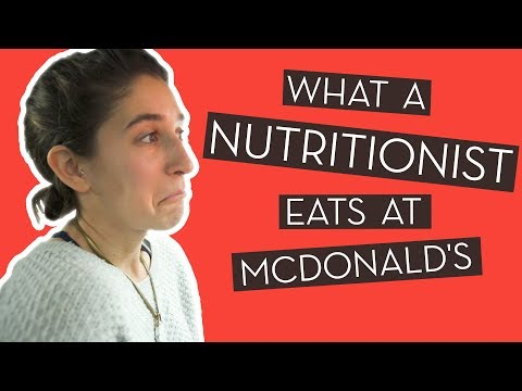 What a Registered Dietitian Orders at McDonald's}
