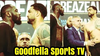 (REACTION) Deontay Wilder Stretches Dominic Breazeale in Round 1