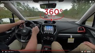 2019 Subaru Forester Test Drive Experience - 360 VR
