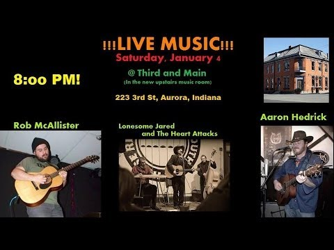 """Lonesome Jared & The Heart Attacks """"Ghosts of Honky Tonk"""""""