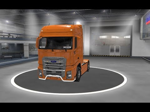 [ETS2 V1.34]Euro Truck Simulator 2 Ford F-Max