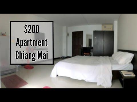 Minimalist Apartment Tour    $200 / Month   Chiang Mai, Thailand