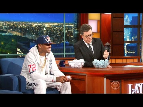 Iverson vs. Colbert: Paper Ball Basketball Shootout