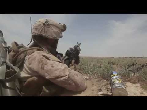 U.S. Marines Come Under Fire While On Patrol In Helmand Province, Afghanistan