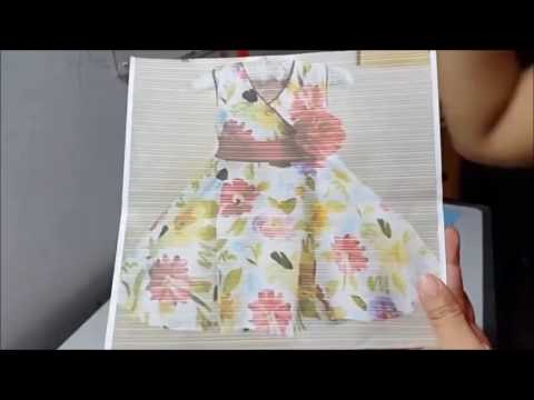 How to make a simple dress for Kid