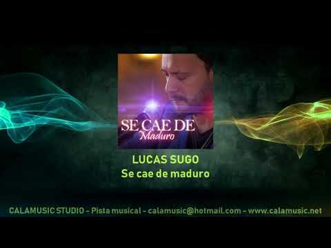 LUCAS SUGO - Se Cae De Maduro - Pista Musical Karaoke