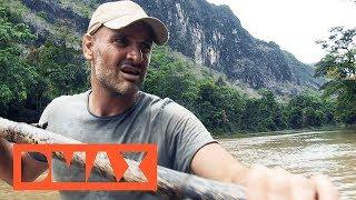 Laos: Auf einem Floß durchs Gebirge   Ed Stafford   DMAX Deutschland