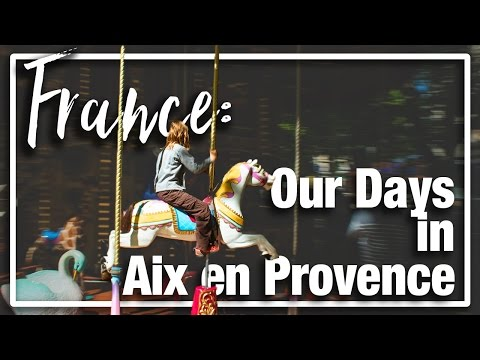 France: Aix-en-Provence with kids; exploring Cezanne and the city