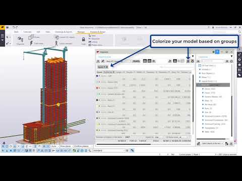 Quantity Takeoff in Tekla using a IFC