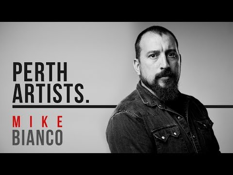 Perth Artists S02E07a: Mike Bianco