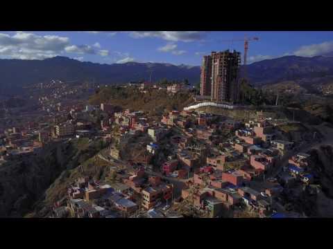 La Paz, Bolivia - Aerial Tour