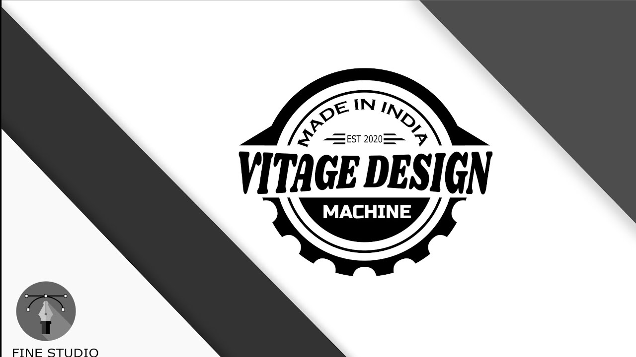 Inkscape Tutorial: Vintage Logo Design
