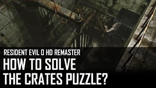 Resident Evil 0 HD - How to solve the crates puzzle in the treatment facility?