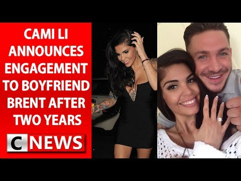 CAMI LI ANNOUNCES HER ENGAGEMENT
