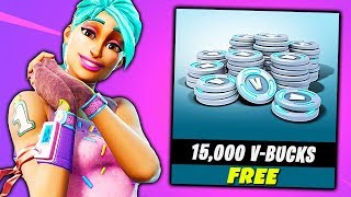 How To Get a FREE *15,000 V-BUCKS* in Fortnite (NOT CLICKBAIT) Chaos