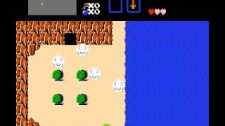 The Legend of Zelda - Legend of Zelda, The (NES) Wooden sword - User video