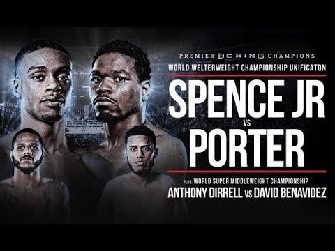 Errol Spence Jr. edges Shawn Porter, unifies welterweight titles
