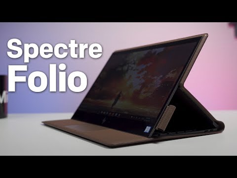 HP Spectre Folio Review: A Near-Perfect PC Covered in Real Leather