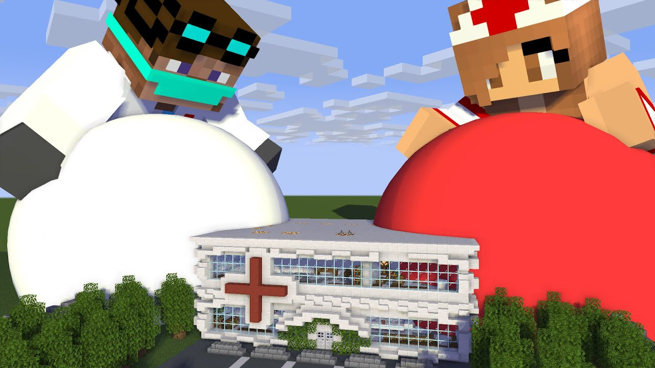 Download Giant Doctor Vore at Hospital  - Minecraft Animation