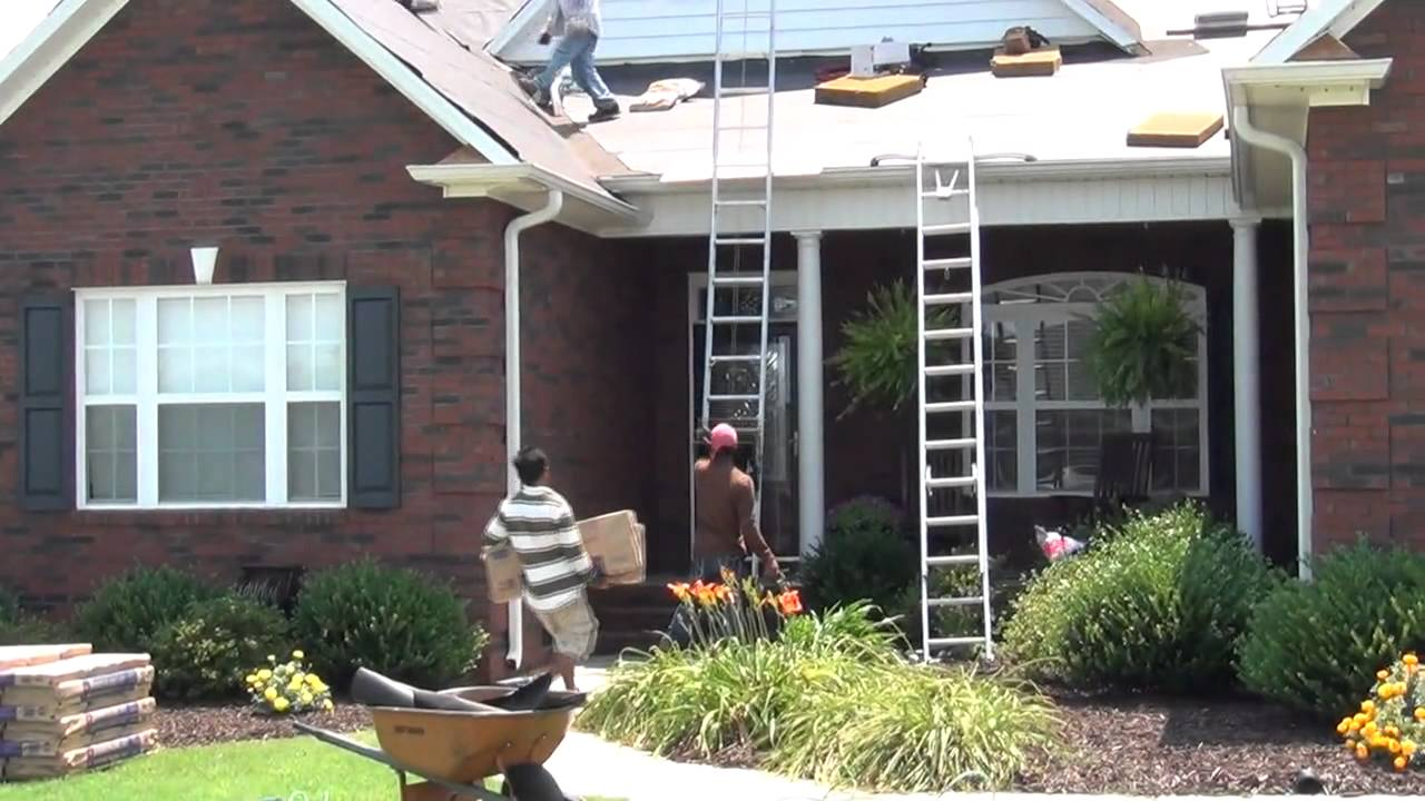 Re-roofing a house - EX Roofing Expert - YouTube