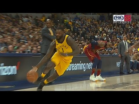 Lance Stephenson Hurts LeBron James After He Steals The Ball!