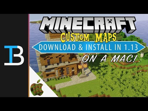 How To Download & Install Custom Maps In Minecraft 1.13 On A Mac